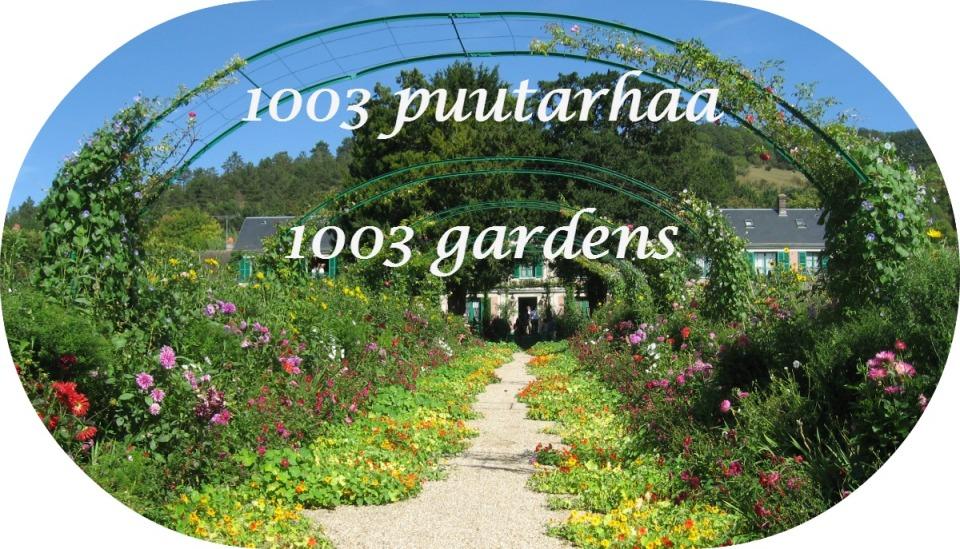 1003 puutarhaa