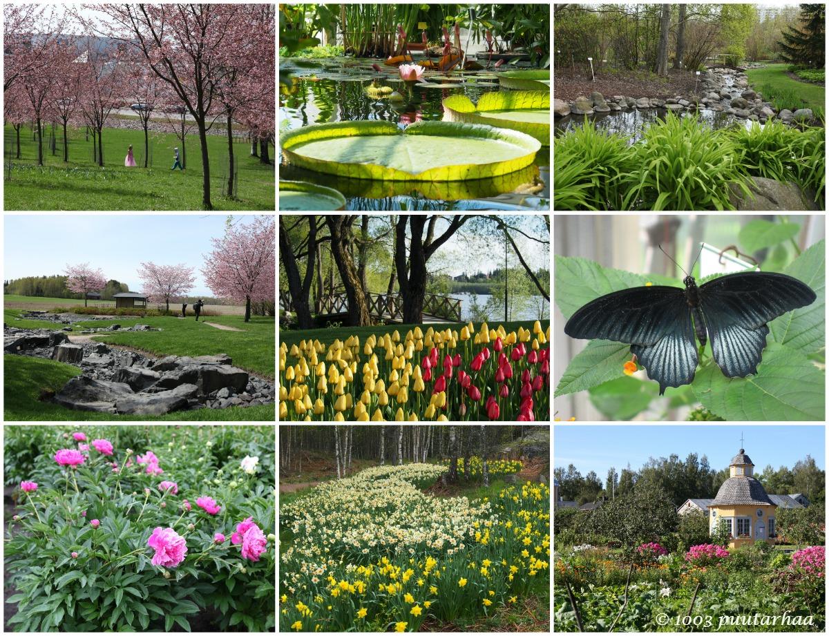 Suomen 100 puistot ja puutarhat