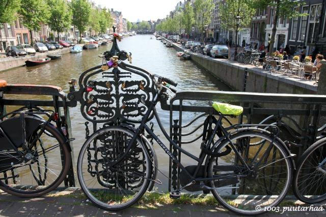 Singel-kanaali Amsterdamissa