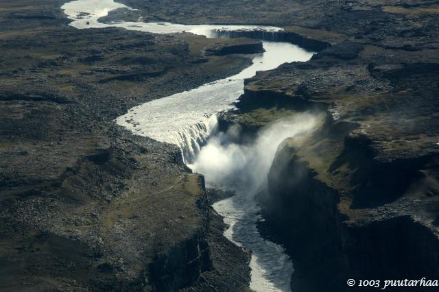 Deittifoss on Euroopan suurin putous veden määrällä mitattuna.